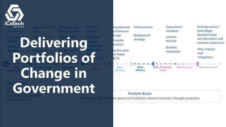 Delivering Portfolios of Change in Government