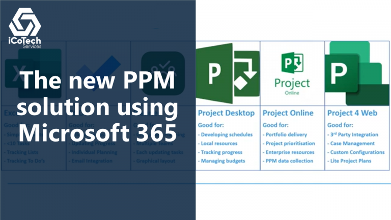 A new PPM solution using Microsoft 365