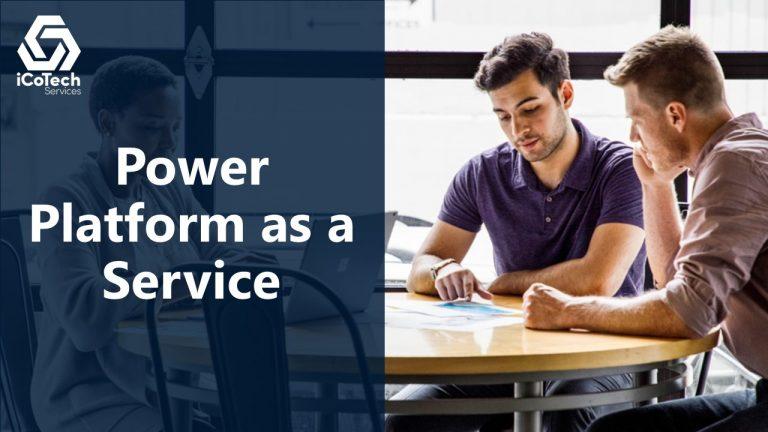 Power Platform as a Service