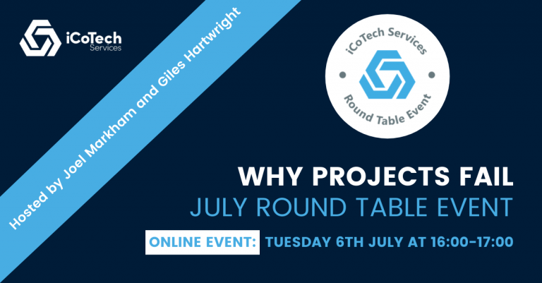 Why Projects Fail: July Round Table Event
