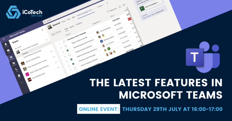 The Latest Features in Microsoft Teams