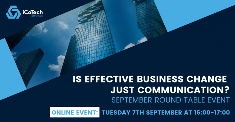 Is effective business change just communication?